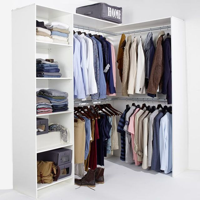 Best 25 dressing angle ideas on pinterest dressing sous combles porte cou - Ikea dressing modulable ...