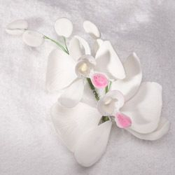 "Wholesale Sugar Flowers - 6"" Phalaenopsis Butterfly Orchid Spray (1 Bunch), $4.99 (http://www.wholesalesugarflowers.com/6-phalaenopsis-butterfly-orchid-spray-1-bunch/)"