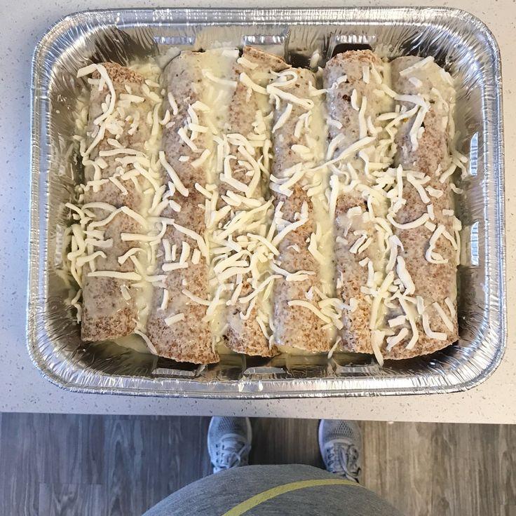 Honey Lime Enchiladas || goodfortheswole.com