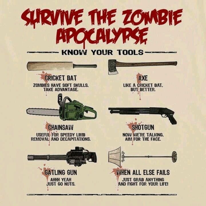 How To Survive The Zombie Apocolypse