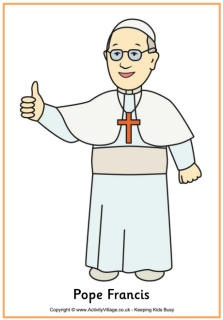 This website has neat Pope Francis activities for kids