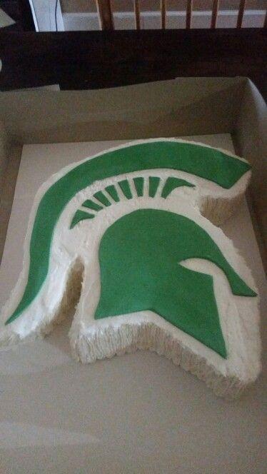 Michigan State Cake In 2019 College Graduation Michigan