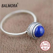 100% real pure 925 sterling silver jewelry elegant natural lapis lazuli retro rings for women lover gifts TRS20950 www.bernysjewels.com #bernysjewels #jewels #jewelry #nice #bags
