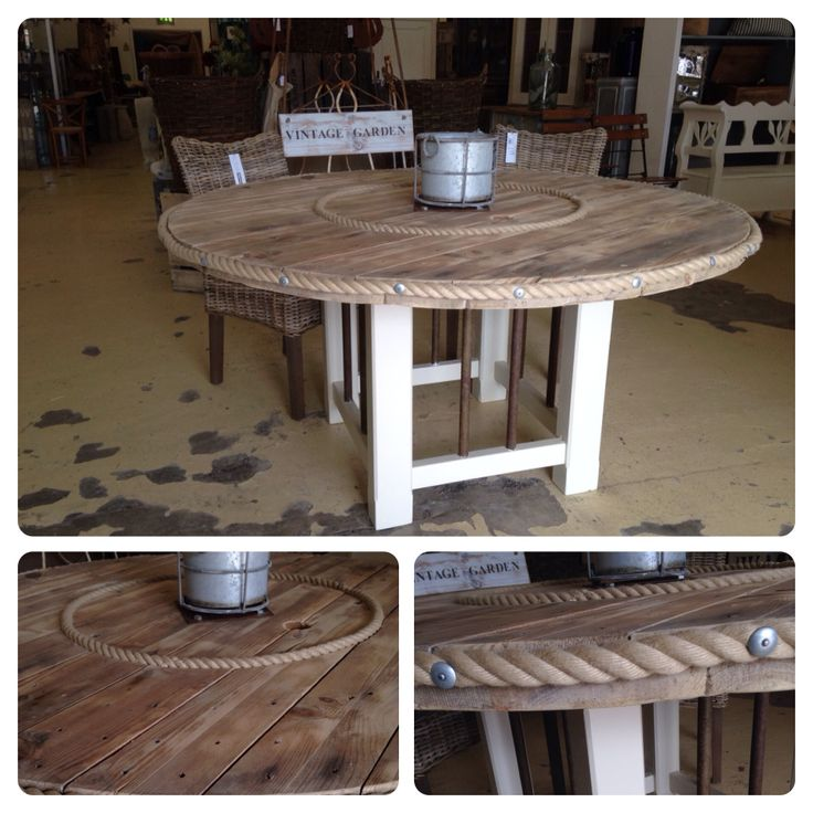 Cool table from cable drum £685