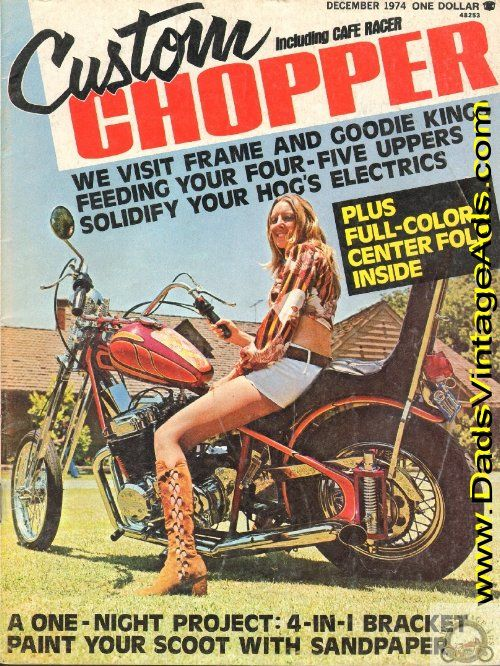"1974 Custom Chopper – Doug Wilson's ""Big-Hop Honda Cruiser"""