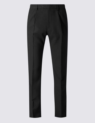 Big & Tall Single Pleat Trousers