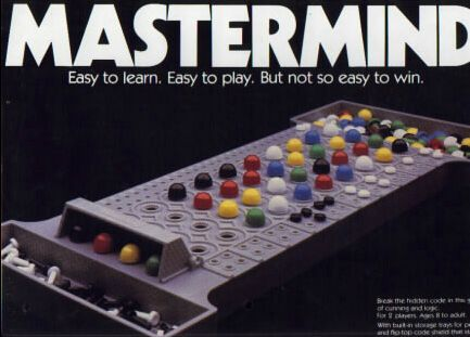 Mastermind - remember playing this