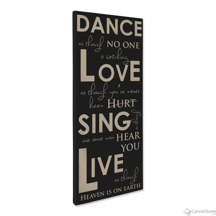 Dance Like No One Is Watching (Black)