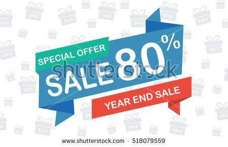 sale eighty percent year end sale