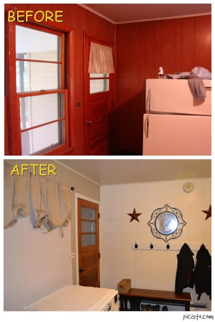 How To Paint Wood Paneling From The Quiett Life I Just