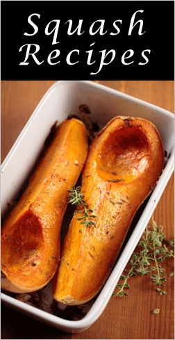 25+ recipes for butternut squash - for you @Michelann Quimby :-)
