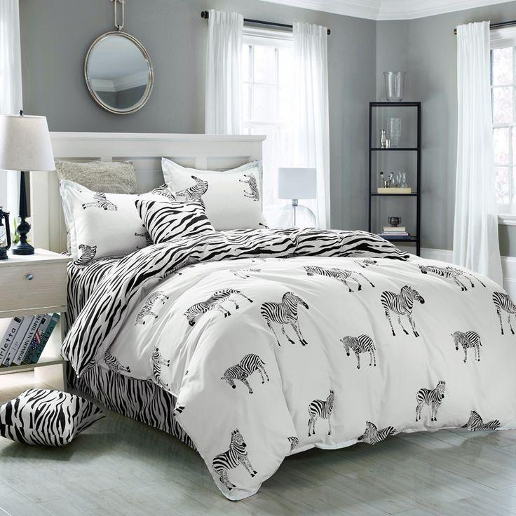 Best 25 zebra print bedding ideas on pinterest pink Zebra print bedding