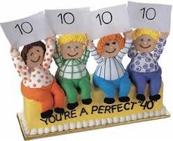40th birthday cake idea