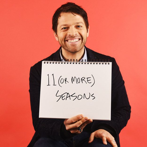Buzzfeed Question: How long would you stay in this haunted house? Misha Answer: 11 (OR MORE SEASONS) Did I mention today how much I <3 Misha & SN/ ;)
