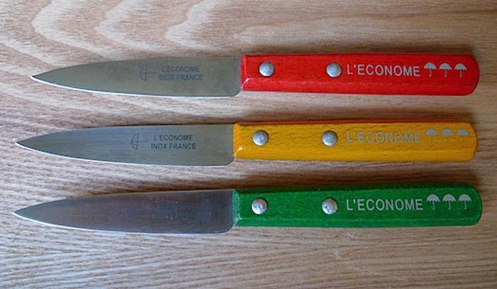 L'Econome paring knives - per Sally Schneider via Splendid Table.