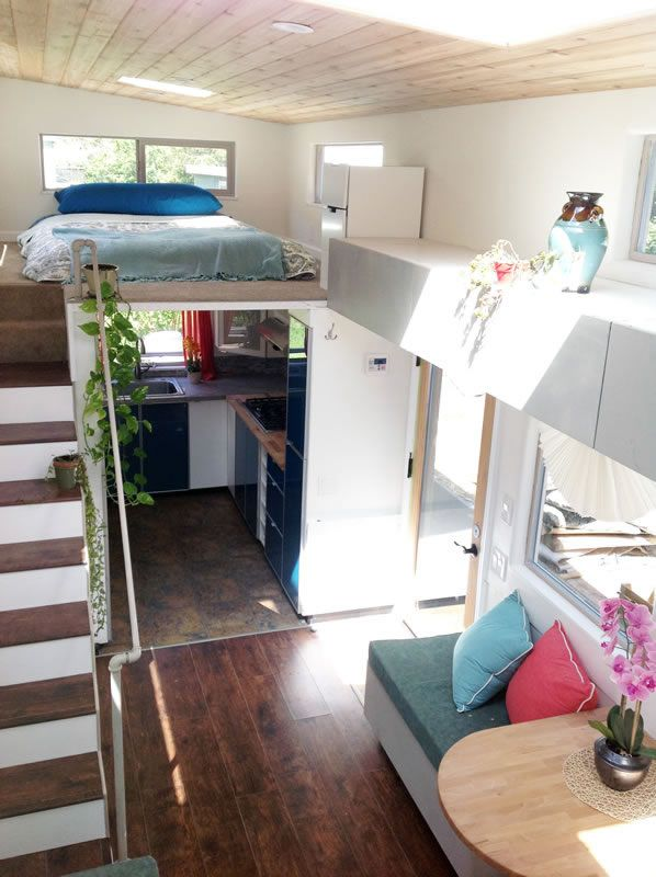 340 Sq. Ft. Tiny Home on Wheels For Sale on APRIL 17, 2016