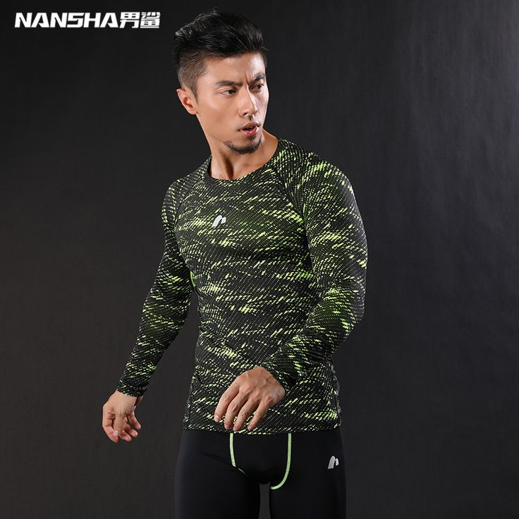 summer outfits men NANSHA 2017 Mens Compression T-Shirts 3D Wolf Jerseys Long Sleeve T Shirt Fitness Men Crossfit T-Shirts Tights Brand Clothing -- AliExpress Affiliate's buyable pin. Find out more on www.aliexpress.com by clicking the VISIT button