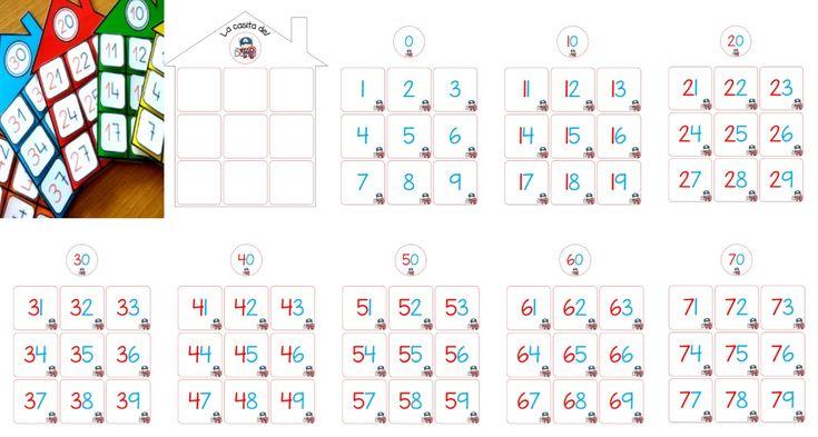 Maravillosa material educativo la casita de los números para primer y segundo grado de primaria | Educación Primaria
