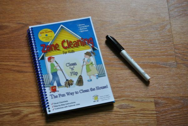 Zone Cleaning for Kids {With Giveaway}