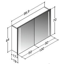 die besten 25 spiegelschrank mit licht ideen auf pinterest badezimmer spiegelschrank mit. Black Bedroom Furniture Sets. Home Design Ideas