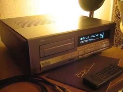YAMAHA CDX 10000 Limited Edition cd-player best of - YouTube