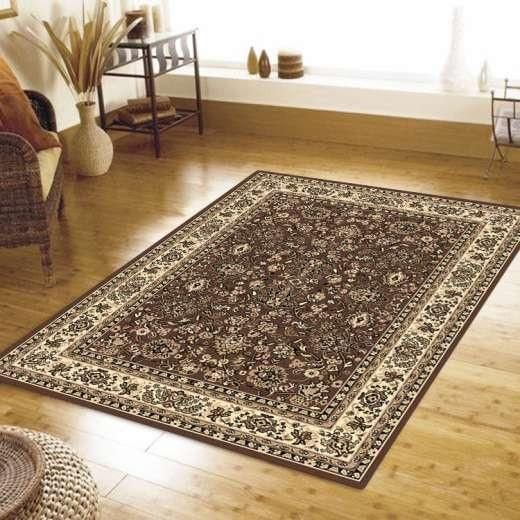 TRADITIONAL RUBY CROWDED FLOOR RUGS