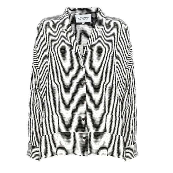 Pyjamas shirt - stripe print