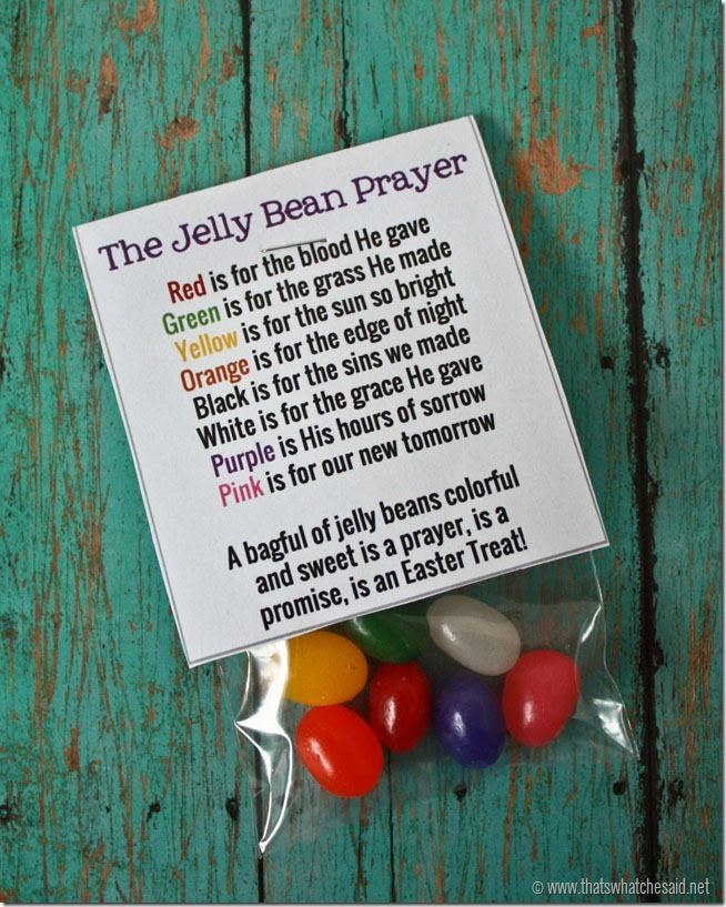 Free Printable Jelly Bean Prayer Bag Toppers at thatswhatchesaid.net