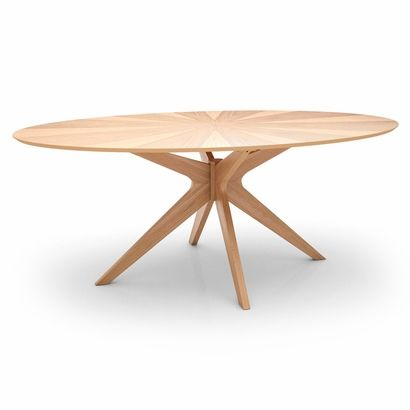 Starburst Oval Dining Table - Click to enlarge