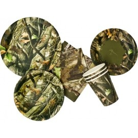 This site has a TON of camo party supplies