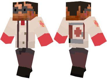 Team Fortress 2 Minecraft Skins