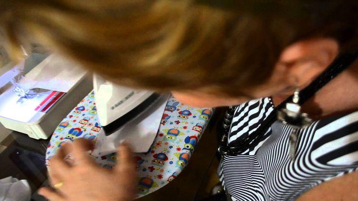 Colocando o colarinho simples na camisa - Aula 50.4