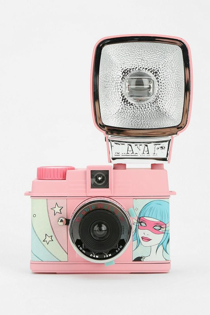 Lomography X Tara McPherson Mini Diana Flash Camera #urbanoutfitters