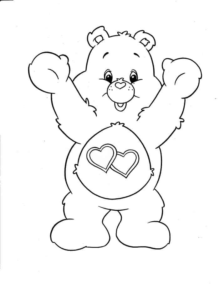 Bear Coloring Pages In 2020 Bear Coloring Pages Heart Coloring