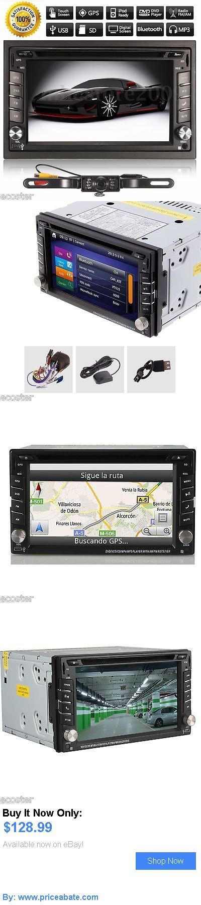 Vehicle Electronics And GPS: 6.2 Gps Navigation Hd 2Din Car Stereo Dvd Player Bluetooth Ipod Mp3 Tv  Camera BUY IT NOW ONLY: $128.99 #priceabateVehicleElectronicsAndGPS OR #priceabate