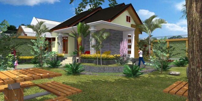 Desain Rumah Hunian Asri – 2mdesain.com