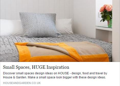 Discover small spaces design ideas on HOUSE !! ‪#‎Apresi‬ ‪#‎AluminiumKitchenCabinets‬ http://www.houseandgarden.co.uk/interiors/interior-design-ideas-small-spaces-flats