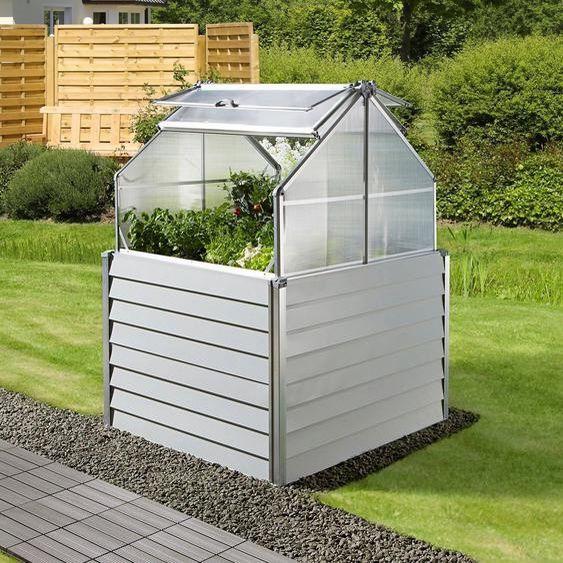 Konifera Hochbeet Balcony Planter Bxtxh 120x120x169 Cm In 2020 Hochbeet