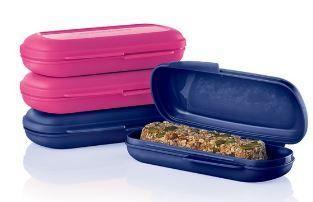 Barres Tendres maison faciles ! Une collation santé pour l'école ou le travail à conserver dans les range-collations de Tupperware.