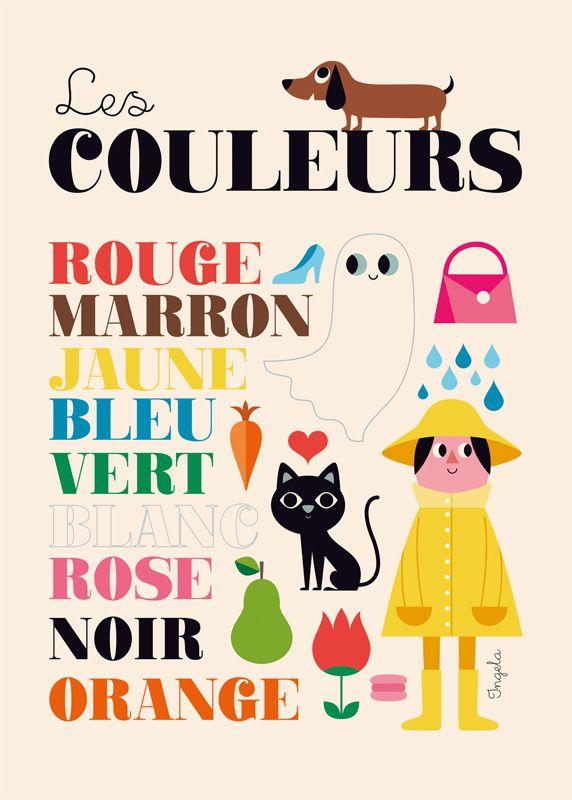 Acheter Affiches Ingela Arrhenius - Déco rétro scandinave pour enfants - L'Affiche Moderne
