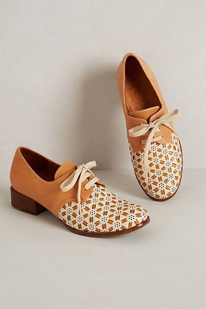 Pinwheel Oxfords #anthropologie