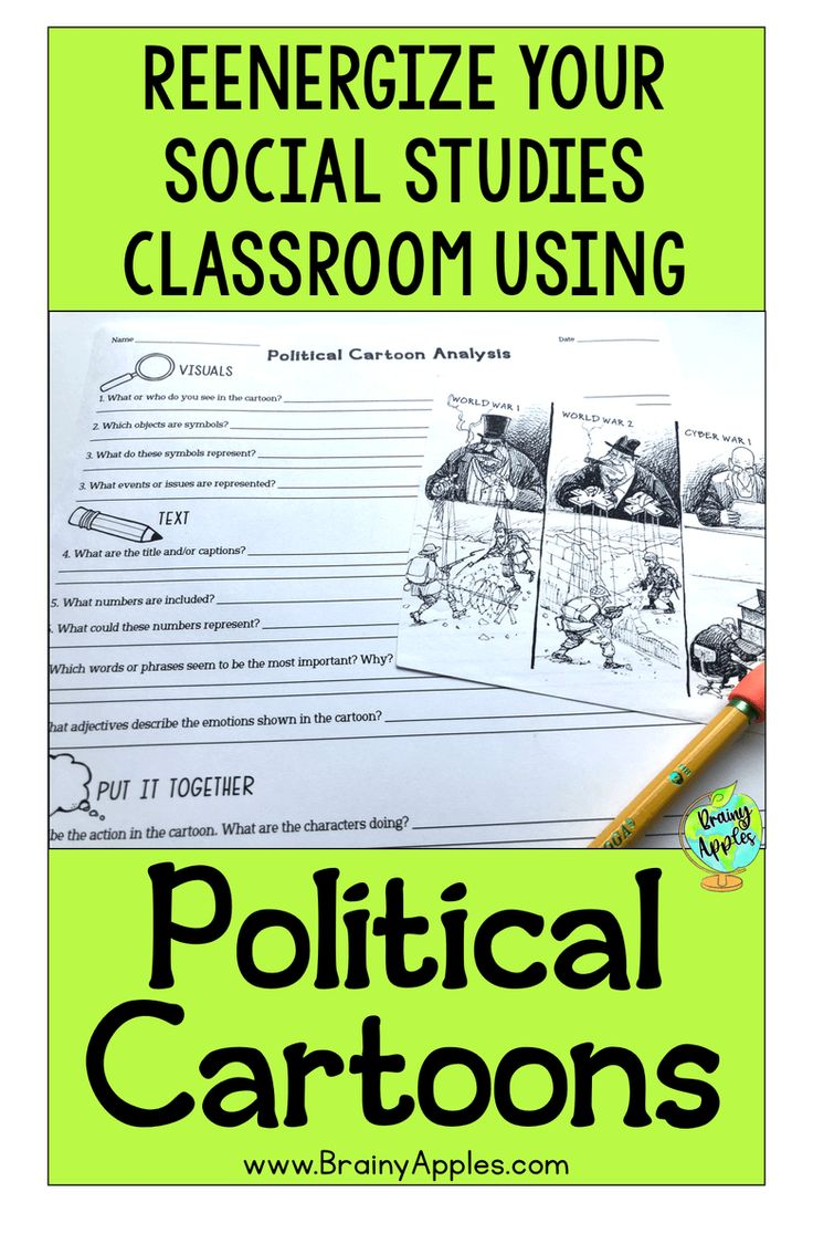 Free history political cartoon activity for the middle school and high social st…