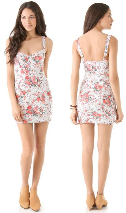 Free People French Bodycon Dress