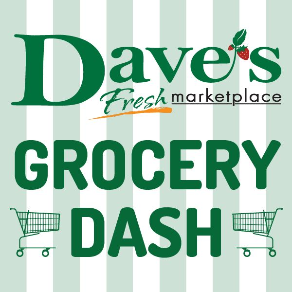 Enter the Dave's Fresh Marketplace Grocery Dash!