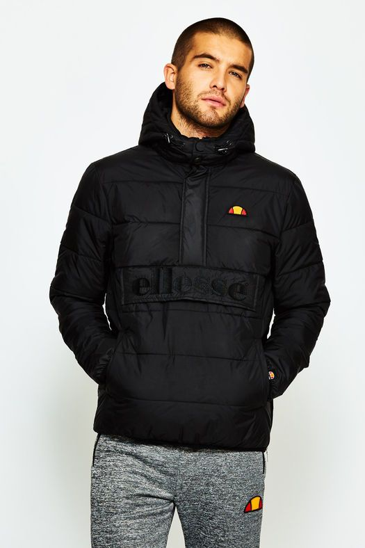 13873fe5 ellesse mens heritage filardi jacket black image 4 | regular clothes ...