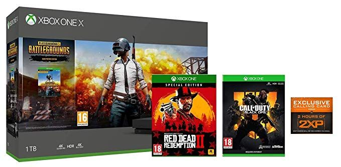 Xbox One X PUBG + Red Dead Redemption 2 Special Edition +