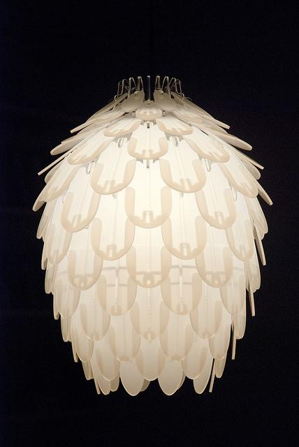 Pinecone Lamp, LOVE IT!