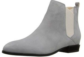Nine West Womens Doloris Leather Pointed Toe Ankle Chelsea Boots.