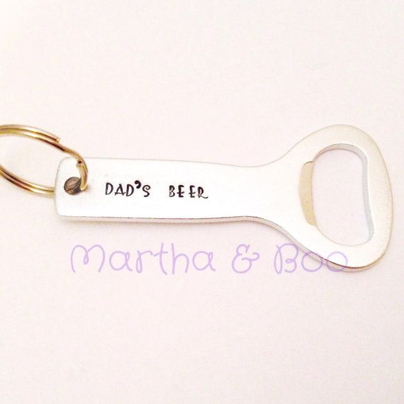 Custom bottle opener personalised bottle opener by MarthaAndBoo
