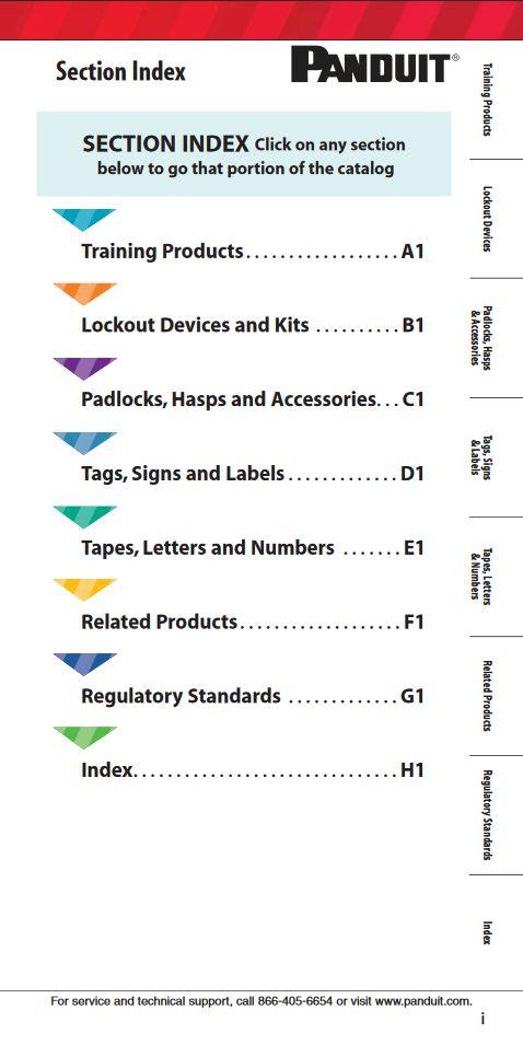 """Panduit Lockout / Tagout """"SA-IDCB33"""" 04.2012 http://www.panduit.com/ccurl/382/183/SA-IDCB33_2012_LO-TO_WEB_6-21-13,0.pdf"""